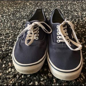 Vans blue authentic's